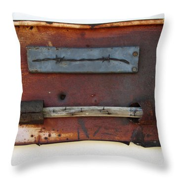Savory Truffle Throw Pillow by Snake Jagger