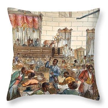 Sc: Legislature, 1876 Throw Pillow by Granger