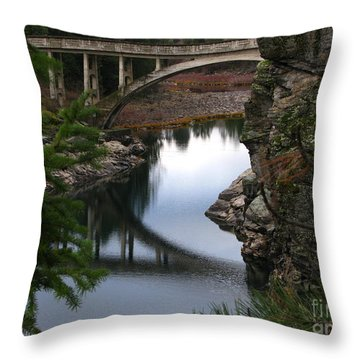 Scenic Fashion Throw Pillow by Greg Patzer