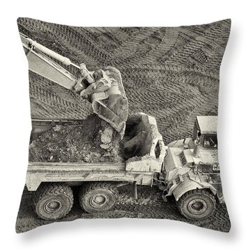 Scoop Throw Pillow by Patrick M Lynch