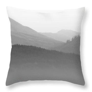 Scotch Mist Throw Pillow by Lynn Bolt