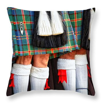 Scottish Festival 4 Throw Pillow