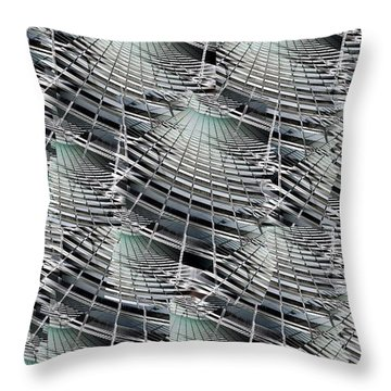 Scraper Throw Pillow by Tim Allen