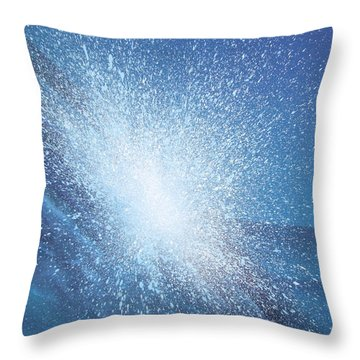Sea Picture Vi Throw Pillow by Alan Byrne