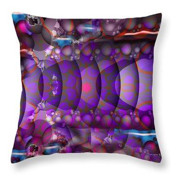 Sea World Throw Pillow by Robert Orinski