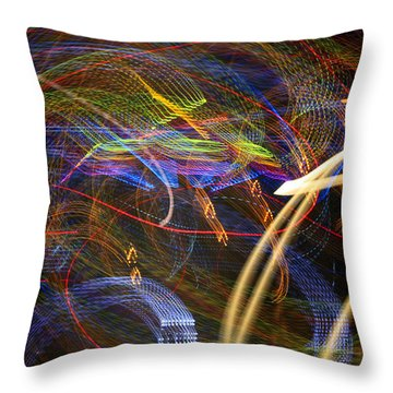 Seance Swirl Throw Pillow