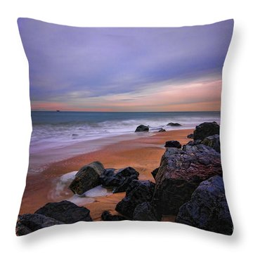 Seascape Throw Pillow by Paul Ward