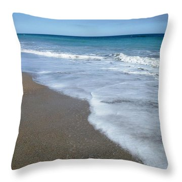 Seascape Wrightsville Beach Nc  Throw Pillow