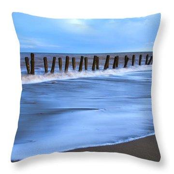 Seashore Throw Pillow by Svetlana Sewell
