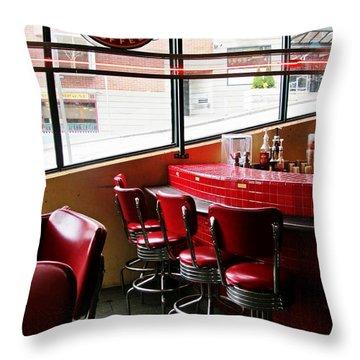 Seattle's Best Throw Pillow by Leanna Lomanski