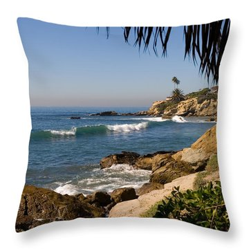 Secret View Throw Pillow