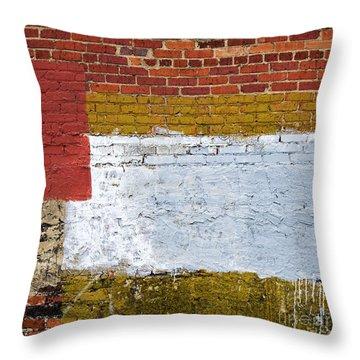 Sediments Throw Pillow