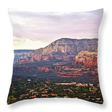 Sedona Evening Throw Pillow