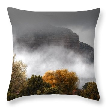 Sedona Fog Throw Pillow