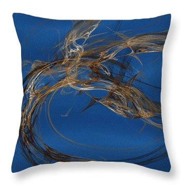 Selbstvertrauen Throw Pillow