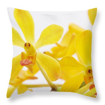 Selective Focus Throw Pillow