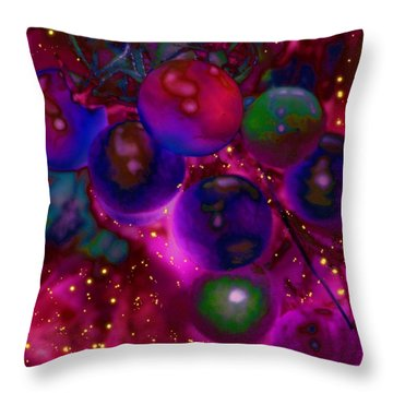 Send In The Clowns Throw Pillow by Barbara S Nickerson