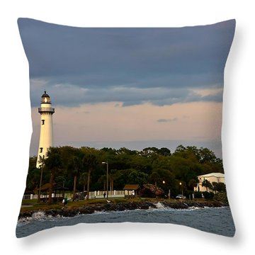 Throw Pillow featuring the photograph Sentinel by Dan Wells