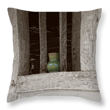 Sentinel Throw Pillow by Shari Nees