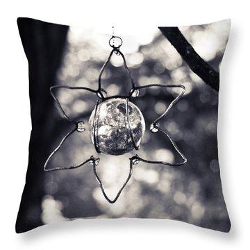 Serendipity Throw Pillow by Sara Frank