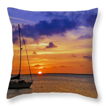 Serenity 2 Throw Pillow by Stephen Anderson