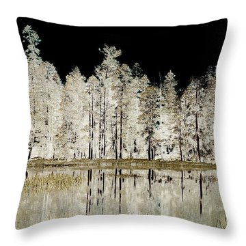 Serenity Throw Pillow by Bonnie Bruno