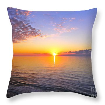 Throw Pillow featuring the photograph Serenity by Eve Spring