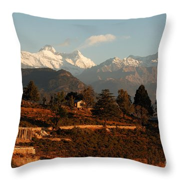 Serenity Throw Pillow by Fotosas Photography