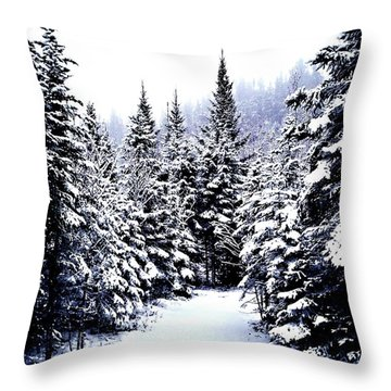 Serenity From Micoua  Throw Pillow