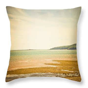 Serenity Throw Pillow by Sara Frank