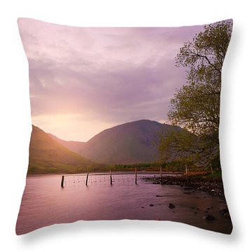 Serenity Throw Pillow by Svetlana Sewell