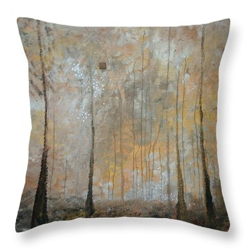 Serenity Throw Pillow by Germaine Fine Art