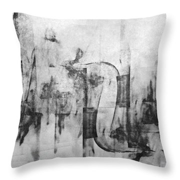 Serious Fun In The Heart Of The City Throw Pillow