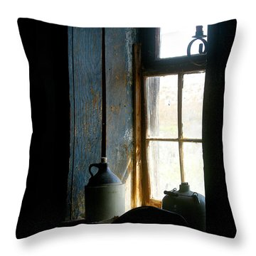 Throw Pillow featuring the photograph Shades Of Blue by Vicki Pelham