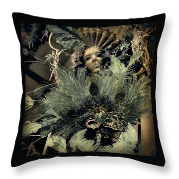 Shadow Me Throw Pillow