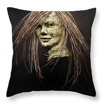 Shana Throw Pillow by Adam Long
