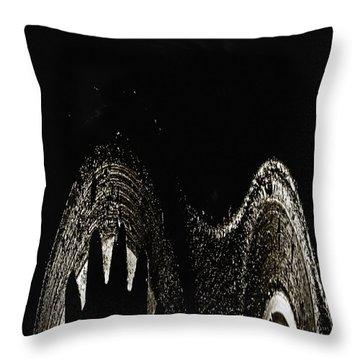 Sharp Throw Pillow by Skip Nall