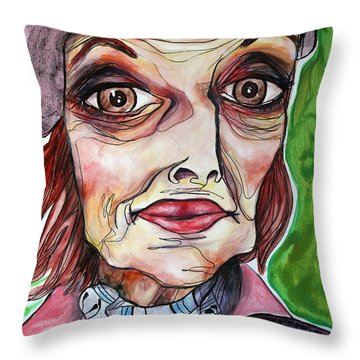 She Once Was Throw Pillow