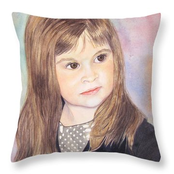 Shelby Throw Pillow by Carol Flagg