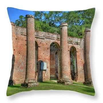 Sheldon Church 3 Throw Pillow