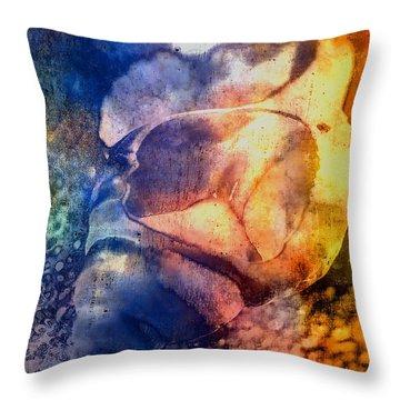 Shell Throw Pillow by Mauro Celotti