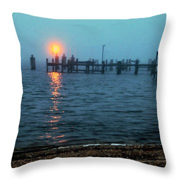 Throw Pillow featuring the photograph Shhh Listen by Clayton Bruster