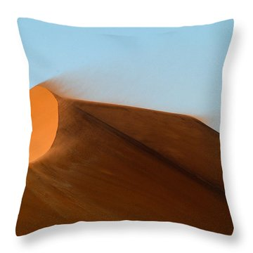Shifting Sand Throw Pillow