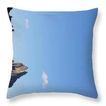Shiprock Throw Pillow by FeVa  Fotos