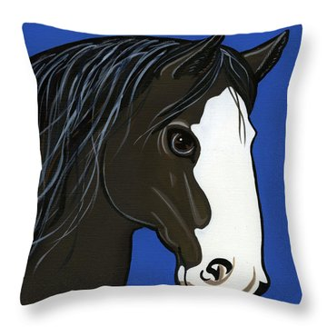 Shire Throw Pillow by Leanne Wilkes