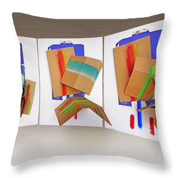 Shock Troops Throw Pillow