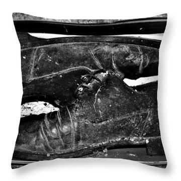 Shoebox Throw Pillow by Empty Wall