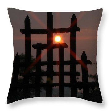 Shore Road Throw Pillow
