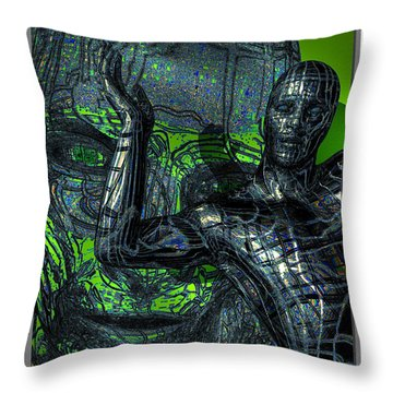Show Time Throw Pillow