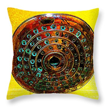 Shower Throw Pillow by Randall Weidner